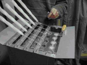 Процесс изготовления свечей