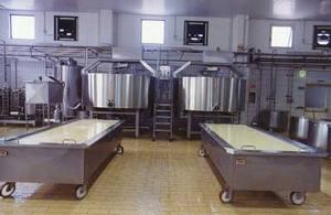 Оборудование для производства сыра