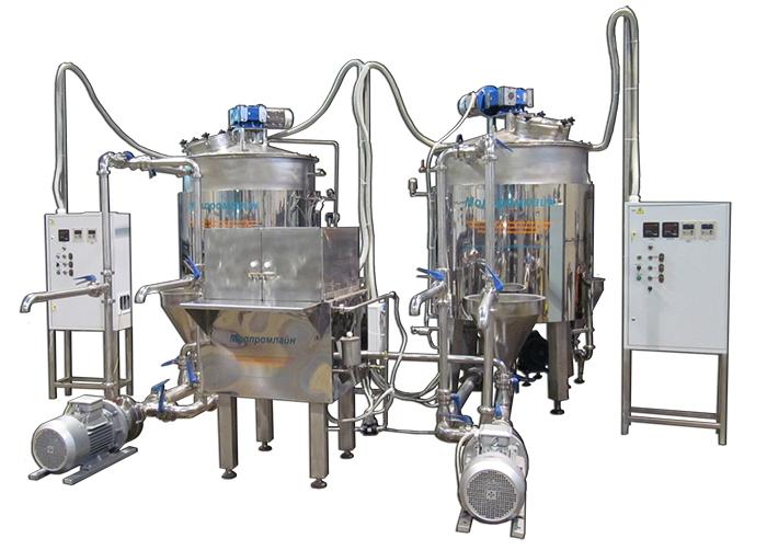 Оборудование для молочного производства