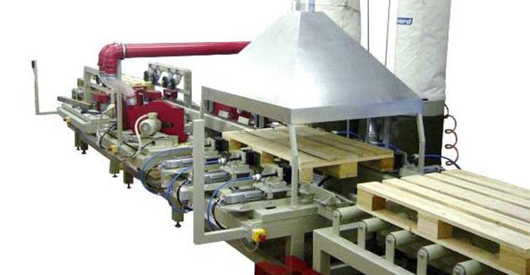 Оборудование для производства поддонов