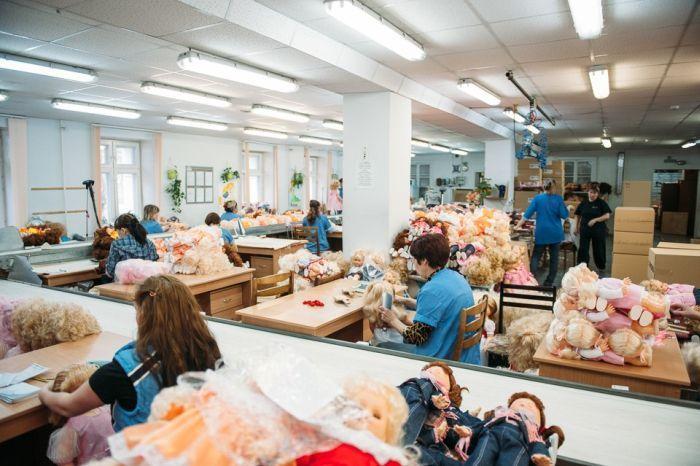 Производство мягких игрушек